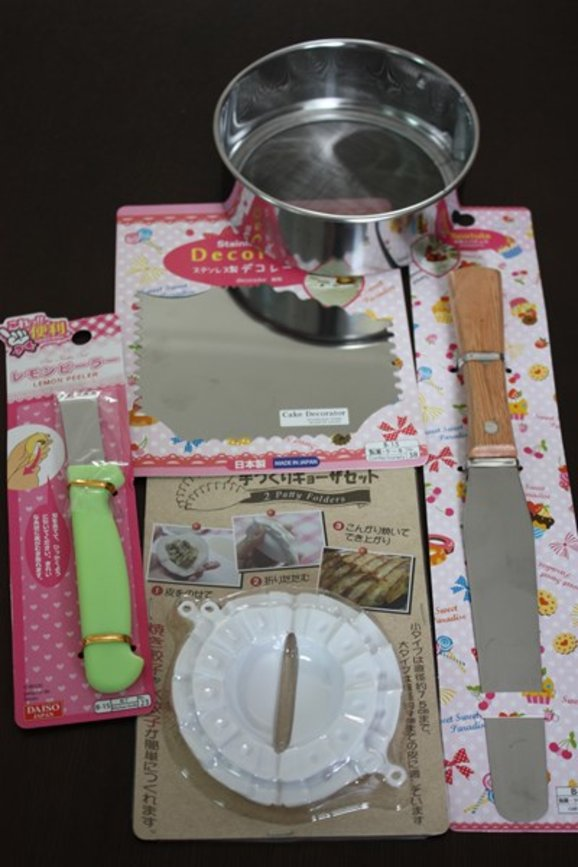 What To Buy From Daiso Cake Decorating Amp Useful Kitchen