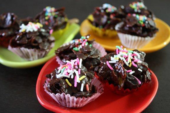 how to make chocolate flakes