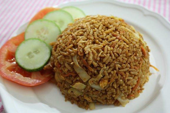 nasi goreng Nasi Goreng (Indonesian Style Fried Rice) Recipe