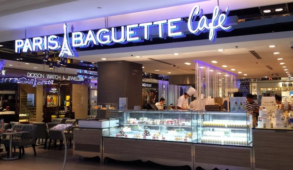 Paris Baguette Cafe Wisma Atria Spring Tomorrow