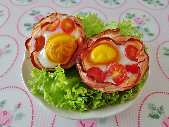 Egg ham muffin 3