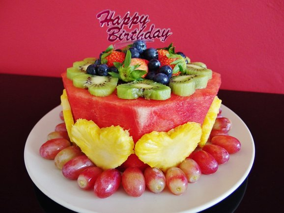 Watermelon Cake Fruit Cake Recipe Spring Tomorrow