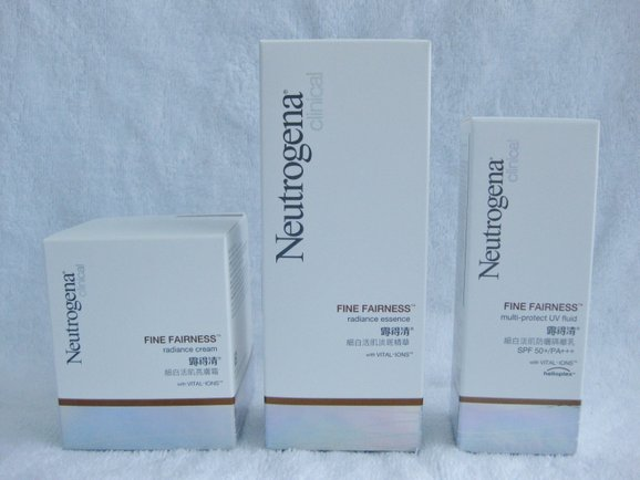 Advertorial: Neutrogena's New Clinical Fine Fairness Whitening Skincare Line | Spring Tomorrow