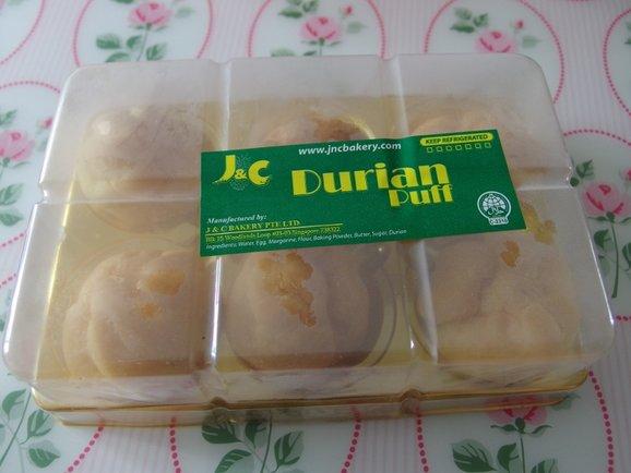 Durian Puffs $3.50