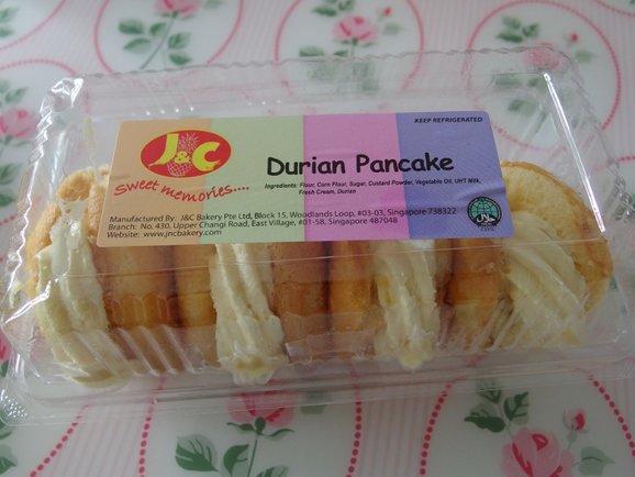 Durian Pancakes $3.00