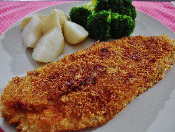 Crispy fried sutchi fish recipe spring tomorrow for Breaded pan fried fish