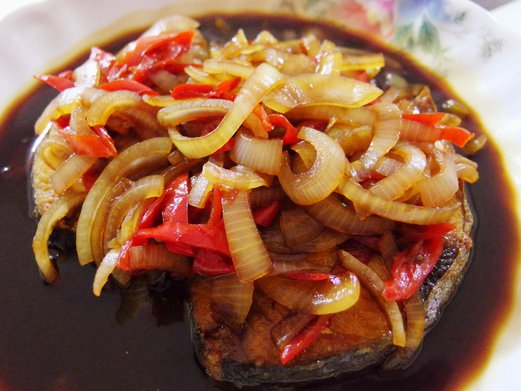 Soy sauce fried batang fish recipe spring tomorrow for Soy sauce fish