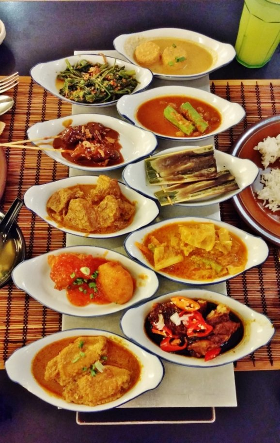 Dine rijsttafel-style at The Rice Table Indonesian Restaurant @ International Building   Spring ...