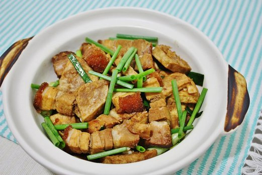 braised-yam-with-roast-pork