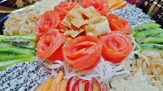 Spring tomorrow singapore food cooking lifestyle blog smoked salmon yu sheng recipe for chinese new year forumfinder Gallery