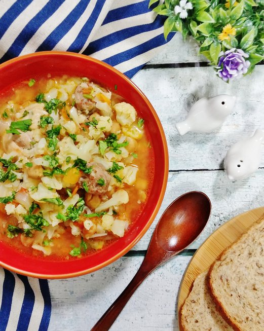 Chickpea and Sausage Stew Recipe