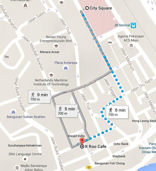 It Roo Cafe Jalan Dhoby Johor Bahru Spring Tomorrow
