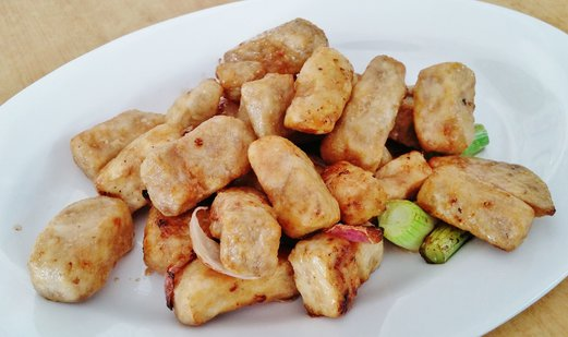 Heng Hua Restaurant (兴化美食) Stir Fried Yam