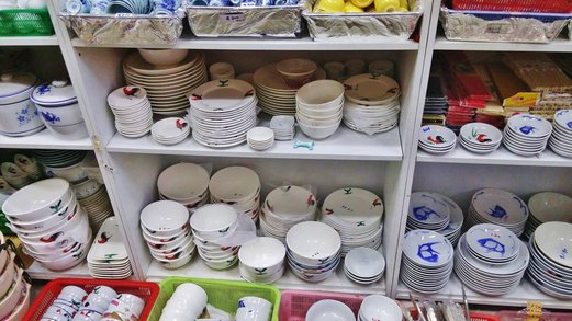 Old School Crockery Enamelware Hai Seng Porcelain Spring Tomorrow