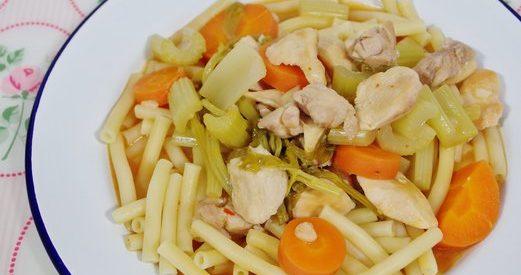 Braised Chicken Macaroni