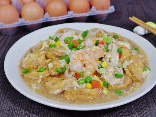 Crabstick prawn egg tofu recipe spring tomorrow crabstick prawn egg tofu recipe forumfinder Images