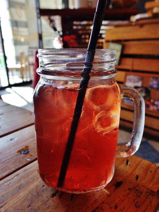 The Mugshot Cafe Wild Berries Tea