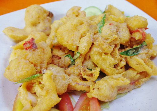 Famous JB 101 Firewokz - Salted Egg Sotong