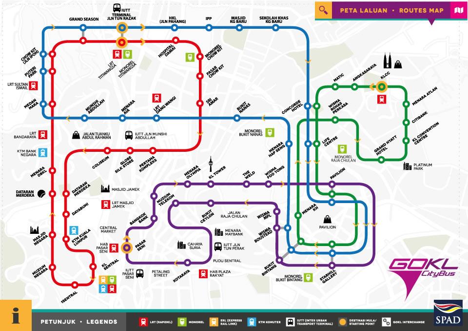 GOKL Map