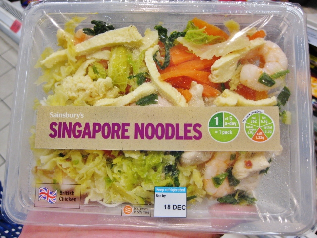 Things To Do In London | Singapore Noodles
