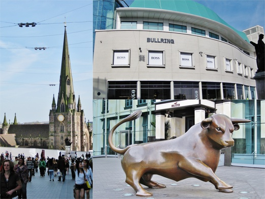 11 Places to Visit in England | Day Trips from London | Bullring Birmingham