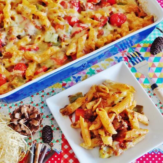 Chilli Beef Pasta Bake Recipe