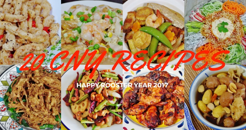 chinese new year recipes 2017 - Chinese New Year Food Recipes