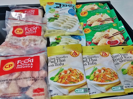 CP Foods Ready To Eat Frozen Meals and Raw Meats