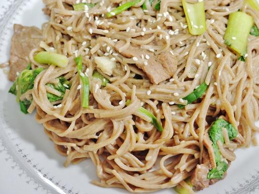 Sesame Beef Noodles Recipe