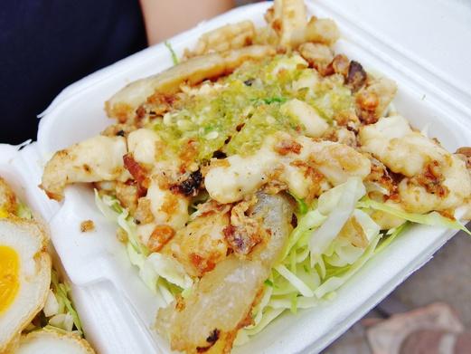 Bangkok Food Guide - What to eat in Bangkok - Squid Eggs