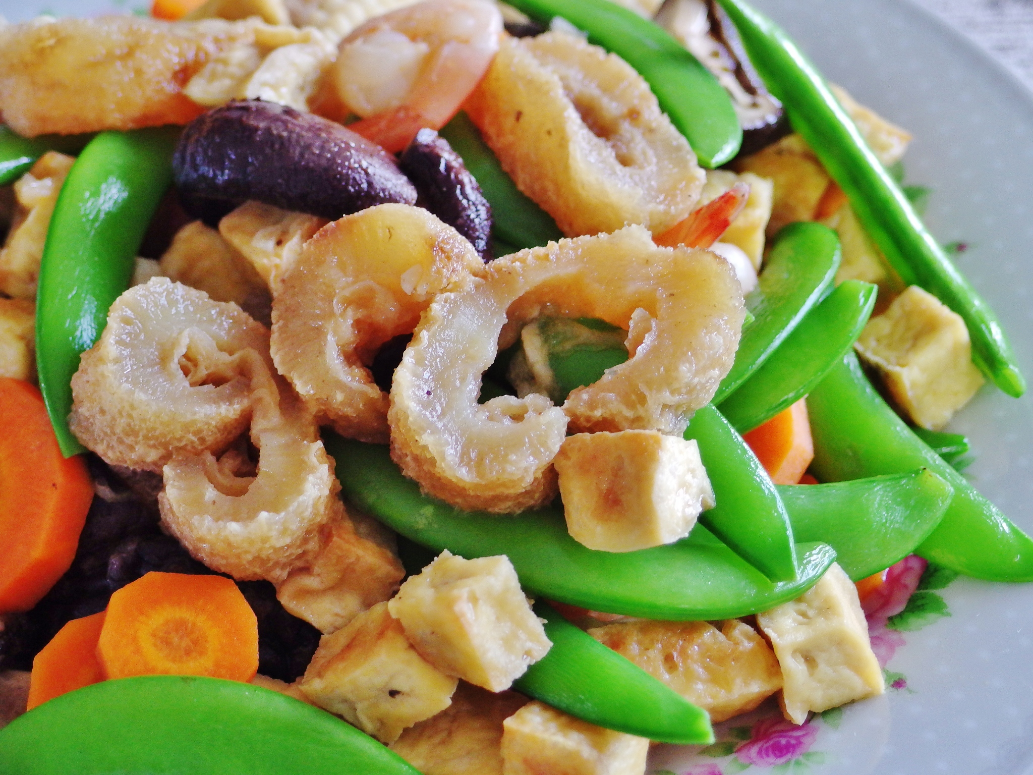Stir Fried Sea Cucumber with Tofu and Vegetables | Spring ...